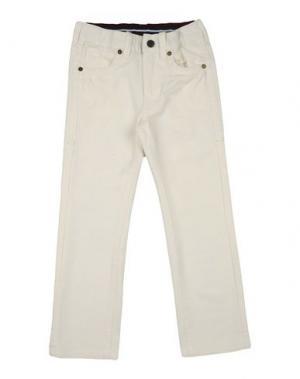 Повседневные брюки REPLAY & SONS. Цвет: белый