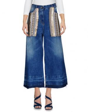 Джинсовые брюки ITALOGY. Цвет: синий