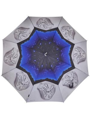 Зонты H.DUE.O. Цвет: серый, синий
