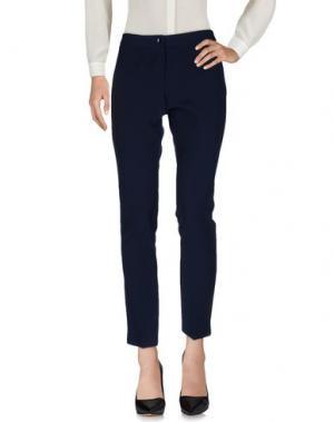 Повседневные брюки CORTE DEI GONZAGA. Цвет: темно-синий