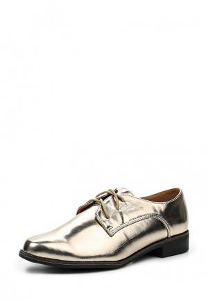 Ботинки Catisa. Цвет: золотой