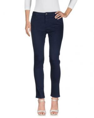 Джинсовые брюки HOTEL PARTICULIER. Цвет: темно-синий