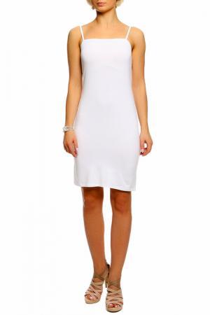 Платье Shes so. Цвет: белый
