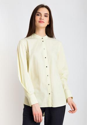 Рубашка Finn Flare. Цвет: желтый