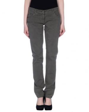 Повседневные брюки ROBE DI KAPPA. Цвет: зеленый-милитари