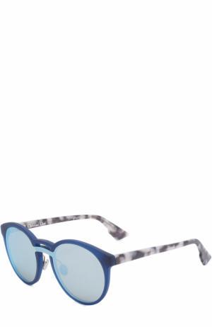 Солнцезащитные очки Dior. Цвет: синий