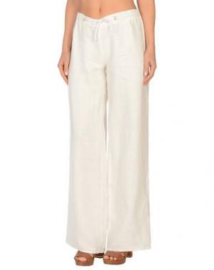 Пляжные брюки и шорты CHRISTIES. Цвет: белый
