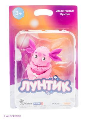 Застенчивый  Лунтик серия и его друзья ProstoToys. Цвет: розовый, белый, черный