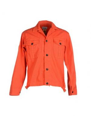 Куртка GARBSTORE. Цвет: красный