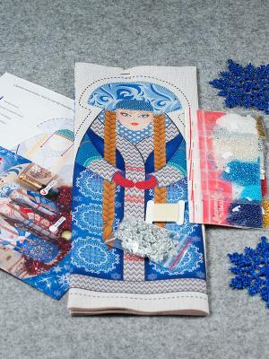 Набор для шитья Матренин Посад. Цвет: бежевый, синий