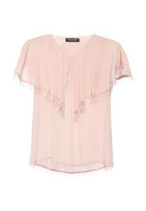 Блуза Twin-Set Simona Barbieri. Цвет: розовый