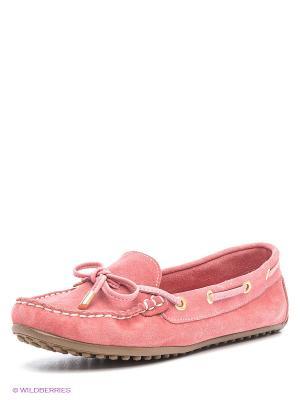 Мокасины Mario Ponti. Цвет: розовый