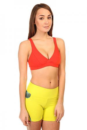 Топ женский  Supplex Top Orange CajuBrasil. Цвет: оранжевый