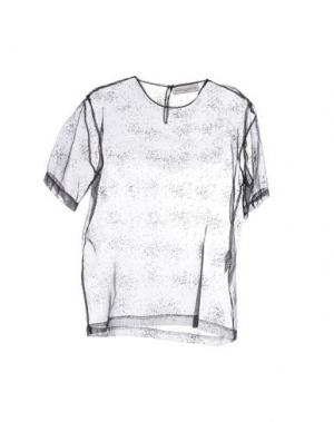 Блузка WANDA NYLON. Цвет: черный
