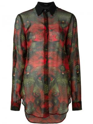 Рубашка Cartago Marcelo Burlon County Of Milan. Цвет: чёрный