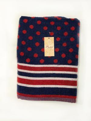 Полотенце La Pastel. Цвет: синий, красный