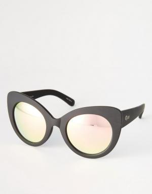Quay Australia Солнцезащитные очки. Цвет: черный