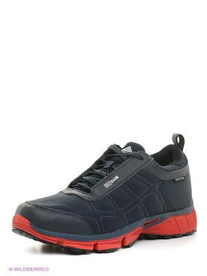 Ботинки EDITEX. Цвет: синий, красный