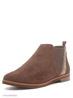 Ботинки Caprice. Цвет: темно-коричневый