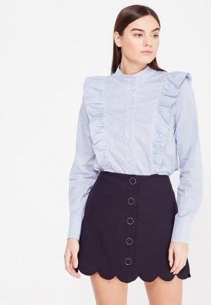 Блуза Katya Erokhina. Цвет: голубой