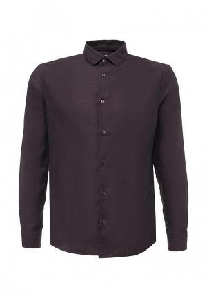 Рубашка oodji. Цвет: фиолетовый