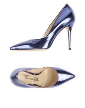 Туфли FEDERICA STELLA. Цвет: синий