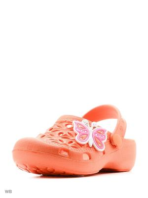 Шлепанцы Mursu. Цвет: оранжевый