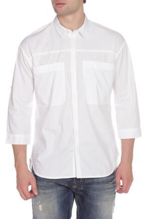 Рубашка Scotch&Soda. Цвет: white, белый