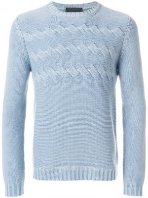 Knitted jumper Iris Von Arnim. Цвет: синий