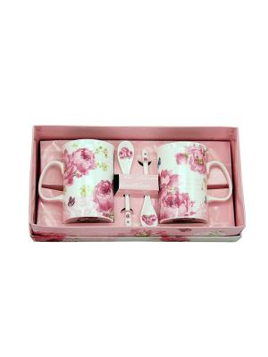 Набор посуды Nuova R2S. Цвет: розовый