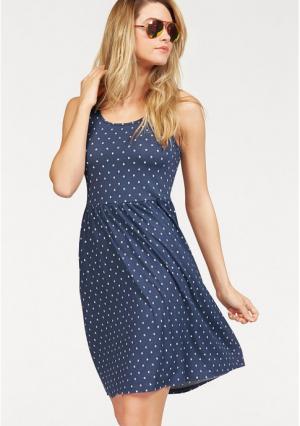Платье AJC. Цвет: синий/белый