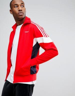 Adidas Originals Спортивная куртка BK5913. Цвет: оранжевый