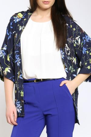 Пиджак Emma Monti. Цвет: floral print