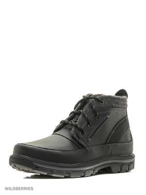 Ботинки SKECHERS. Цвет: темно-серый