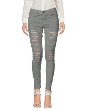 Повседневные брюки GAËLLE. Цвет: серый