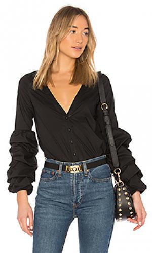Блузка emma LAcademie L'Academie. Цвет: черный