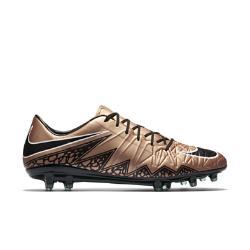 Мужские футбольные бутсы для игры на твердом грунте  Hypervenom Phatal II Nike. Цвет: коричневый