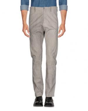 Повседневные брюки LUMEN ET UMBRA. Цвет: серый