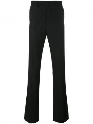 Слегка расклешенные брюки Raf Simons. Цвет: чёрный