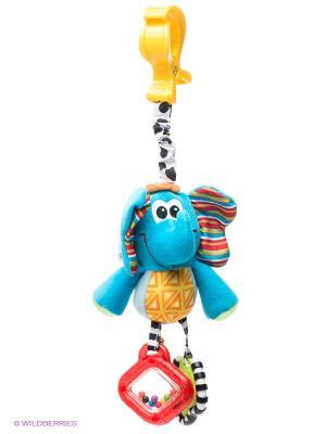Игрушка-подвеска Слоник Playgro. Цвет: голубой