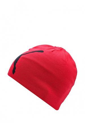 Шапка PUMA. Цвет: красный