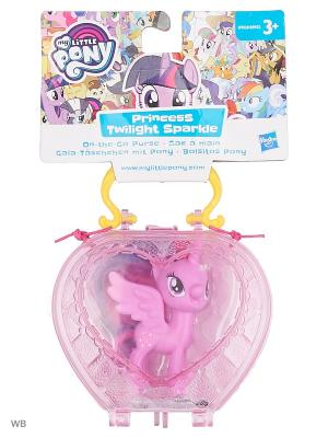 Пони в сумочке My Little Pony. Цвет: розовый