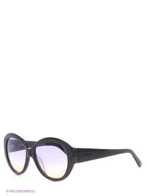 Очки солнцезащитные Replay. Цвет: серый, черный