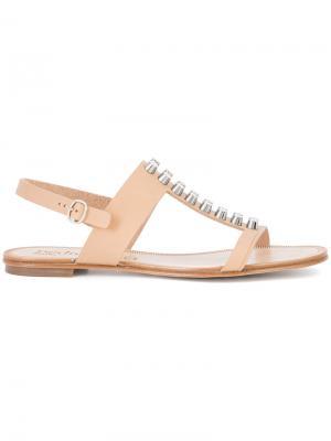 Elise sandals Pedro Garcia. Цвет: телесный