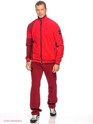 Спортивный костюм RED-N-ROCK'S. Цвет: бордовый, красный