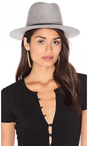 Шляпа lena KIN/K. Цвет: светло-серый