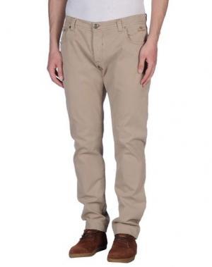 Повседневные брюки NICWAVE. Цвет: бежевый