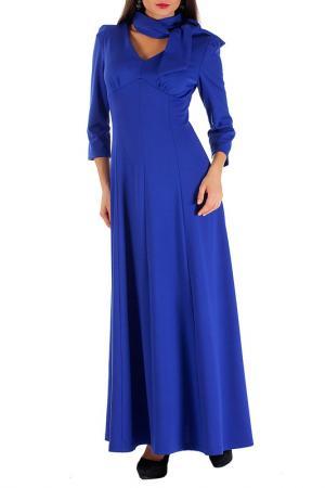Платье Mannon. Цвет: ультрамарин