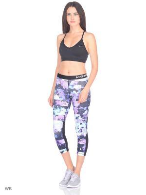 Капри W NP CPRI FLOWER JAMS Nike. Цвет: фиолетовый