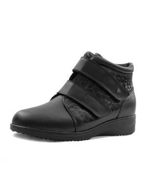 Ботинки Finn Comfort. Цвет: черный
